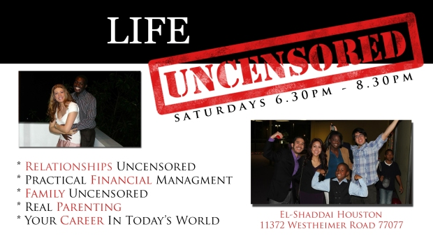 Life uncensored slide