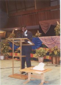DRM preaching in Zambia