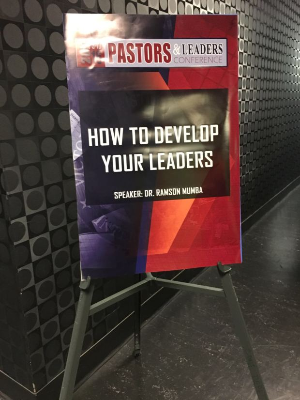 Pastors and Leaders 2016